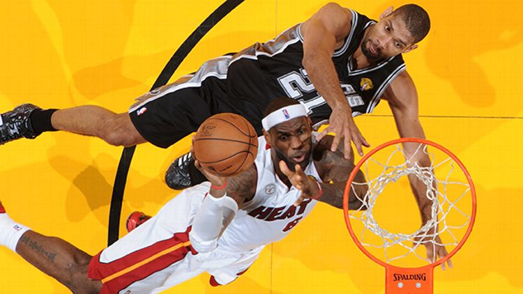 LeBron James, Tim Duncan
