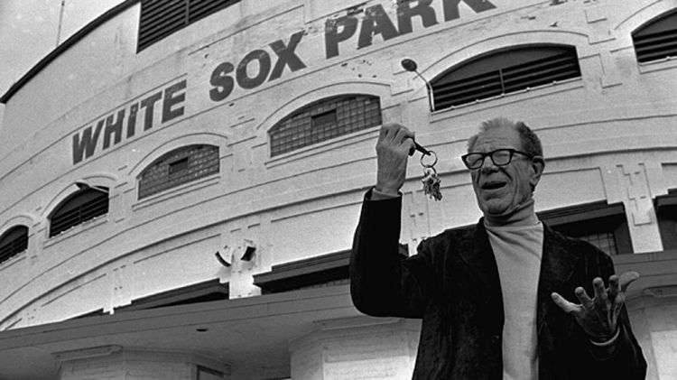Bill Veeck, owner of the Chicago White Sox