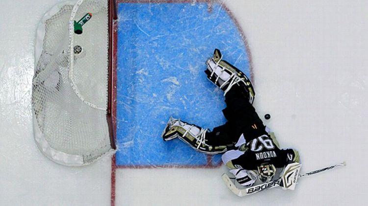 Pittsburgh Penguins goalie Tomas Vokoun