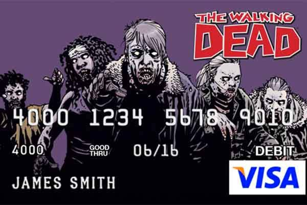 The Walking Dead Visa Prepaid Card