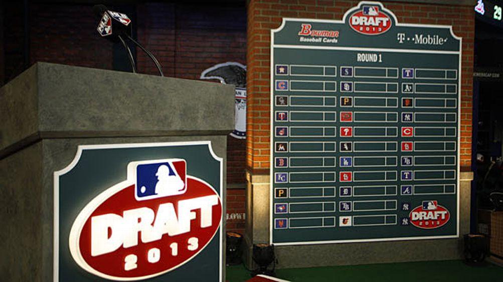 2013 MLB Draft Podium