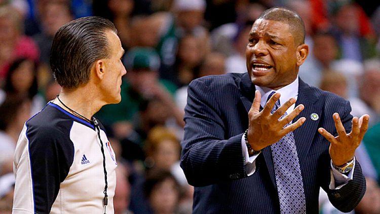 Doc Rivers of the Boston Celtics