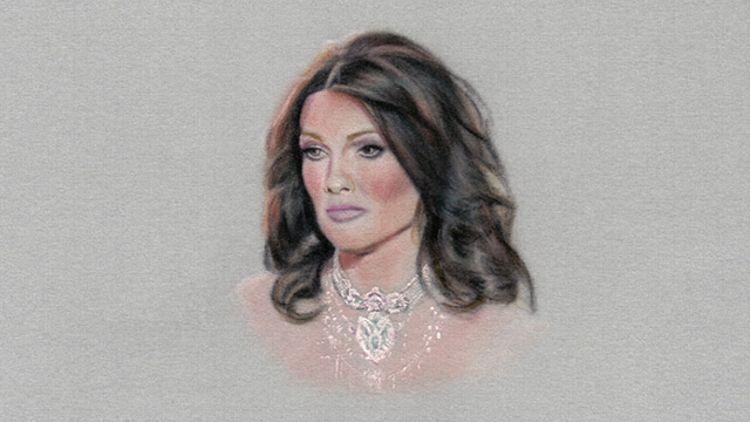 Portrait of Lisa Vanderpump by Karin Bubas