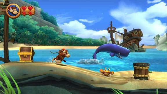 Donkey Kong Country Returns 2 3D