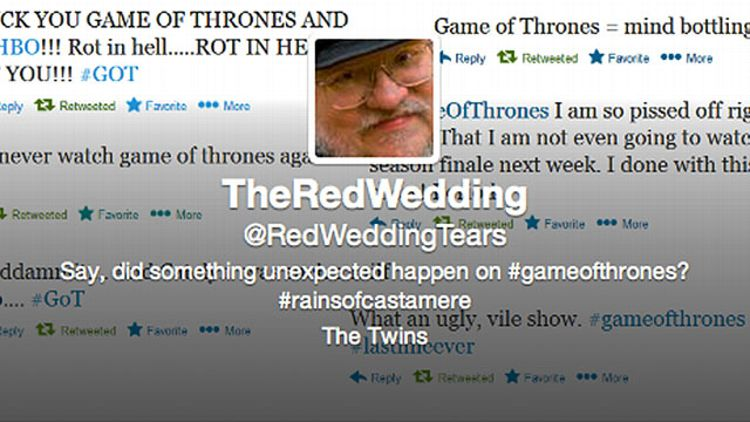 Red Wedding Tears
