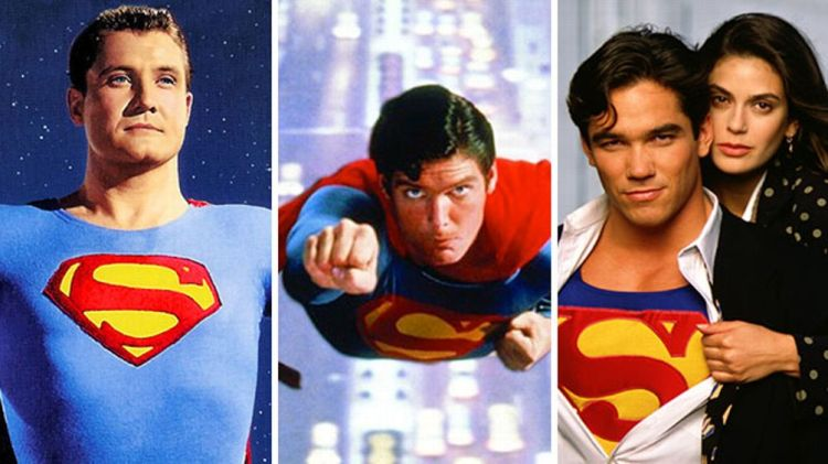'The Adventures of Superman', 'Superman: The Movie', and 'Lois and Clark'