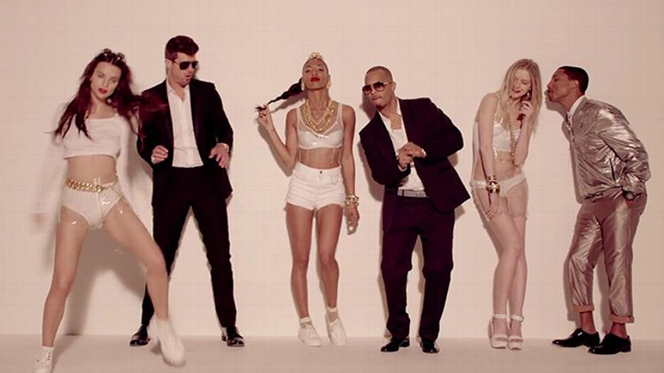 Robin Thicke, 'Blurred Lines'