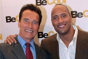 Arnold Schwarzenegger, Dwayne Johnson