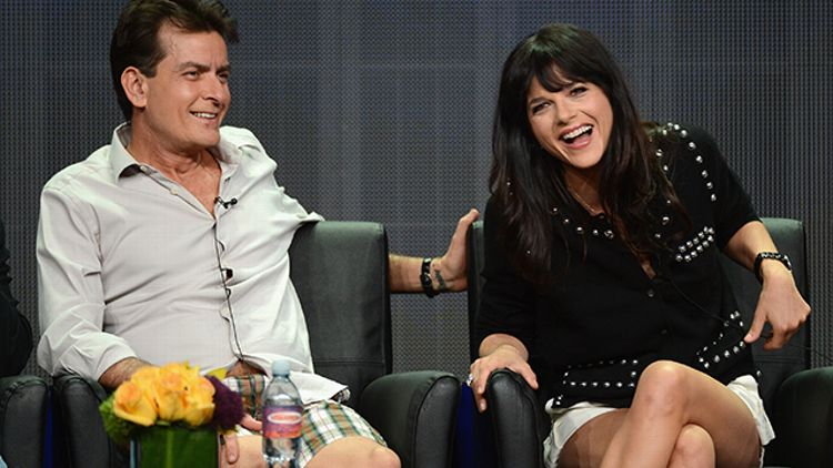 Charlie Sheen, Selma Blair