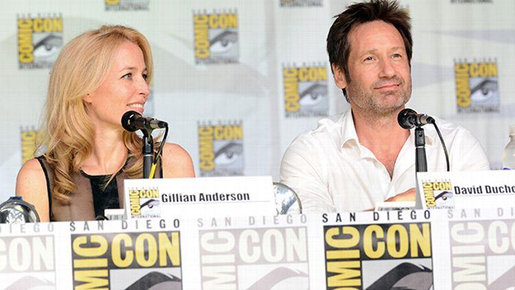 Gillian Anderson, David Duchovny