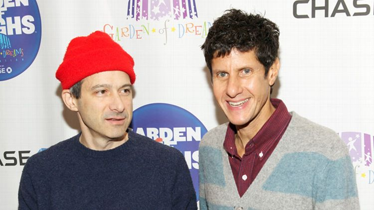 Adam 'Ad Rock' Horovitz and Michael 'Mike D' Diamond