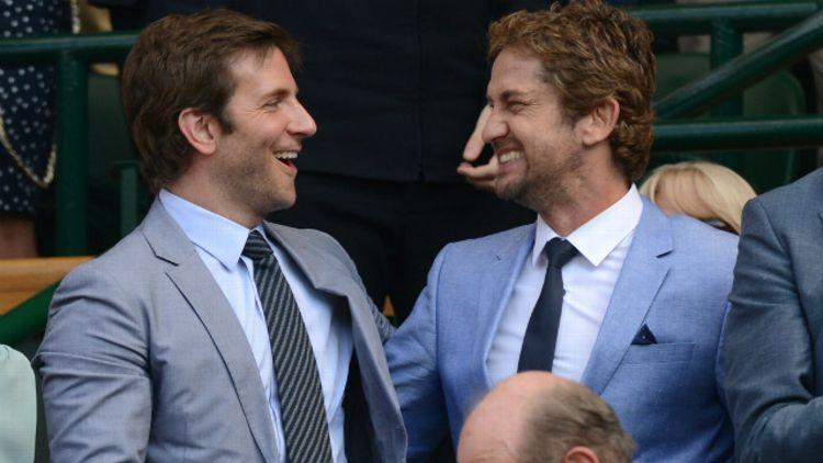 Bradley Cooper and Gerard Butler