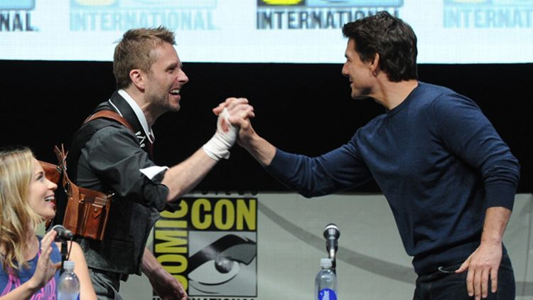 Tom Cruise and Chris Hardwick