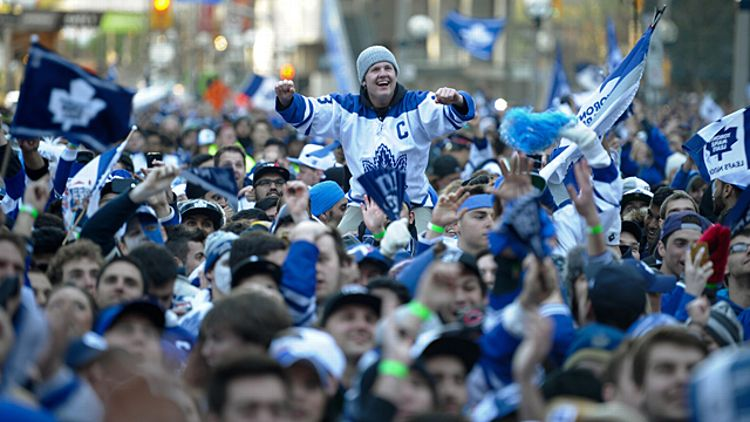 Toronto Maple Leaf fans