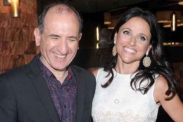 Armando Ianucci and Julia Louis-Dreyfus