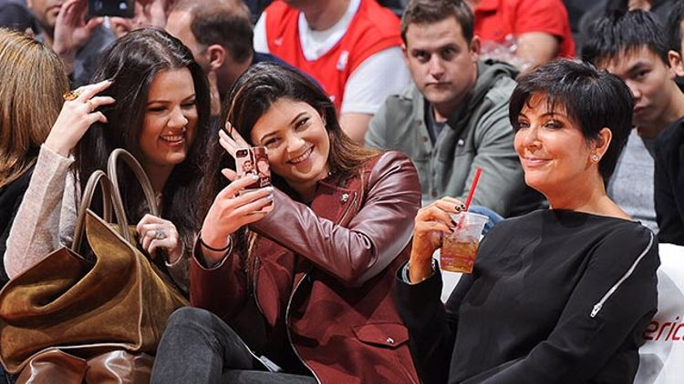 Khloe Kardashian, Kylie Jenner, and Kris Jenner