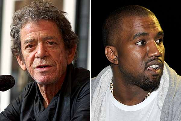 Lou Reed and Kanye West