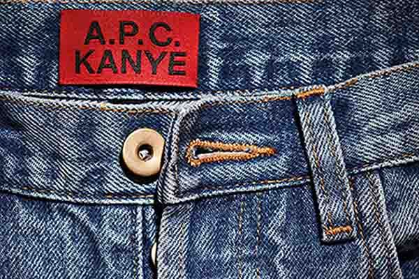 Kanye West A.P.C.
