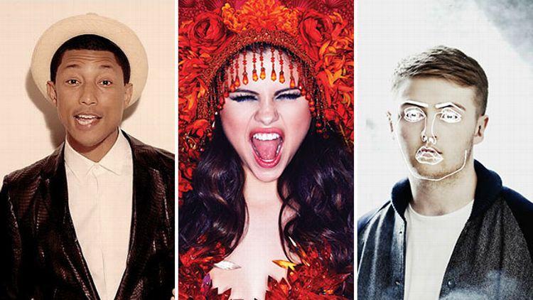 Pharrell, Selena Gomez, Disclosure
