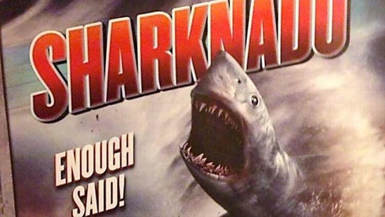 Sharknado? Sharknado. SHARKNADO!