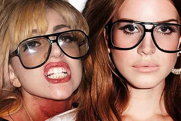 Lady Gaga and Lana Del Rey