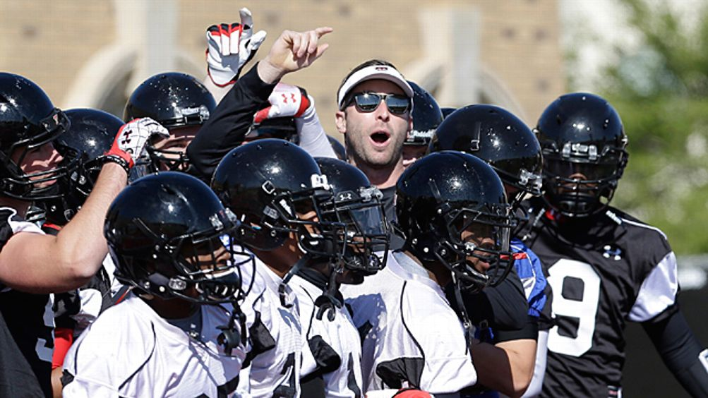 Texas Tech head football coach Kliff Kingsbury