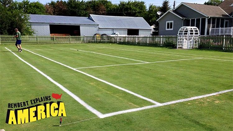 Iowa Tennis Court