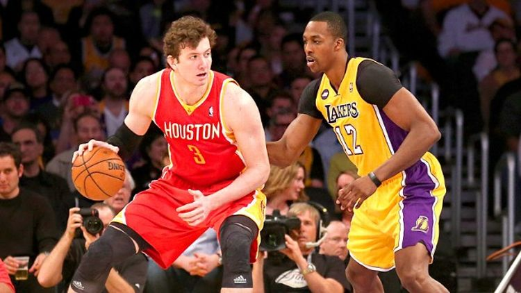 Omer Asik and Dwight Howard