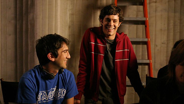 Josh Schwartz and Adam Brody