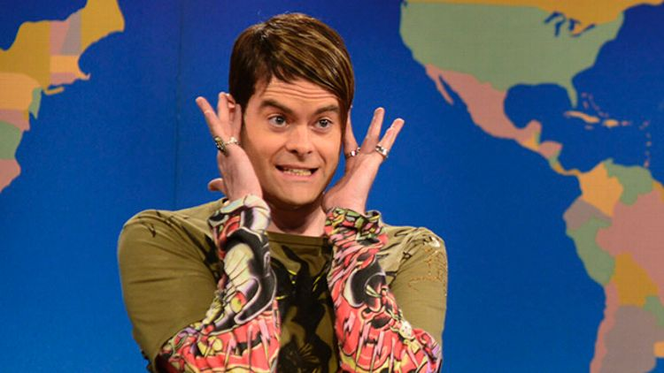 Bill Hader as Stefon on SNL