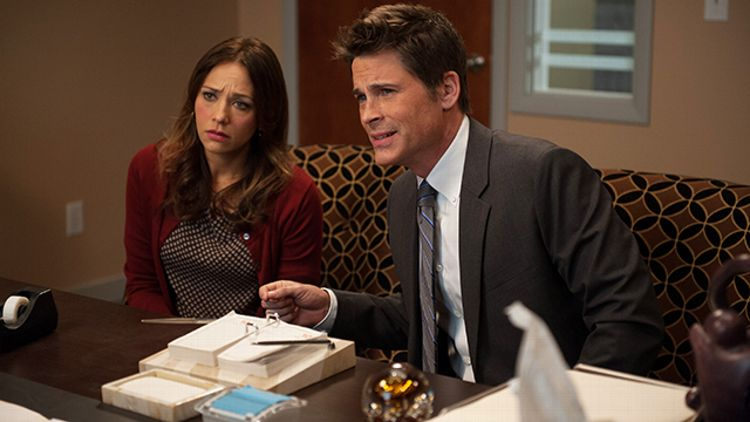 Rashida Jones, Rob Lowe