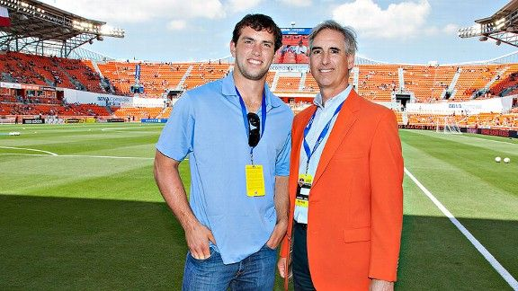 Oliver and Andrew Luck