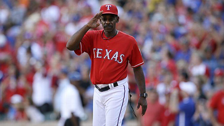 Texas Rangers manager Ron Washington