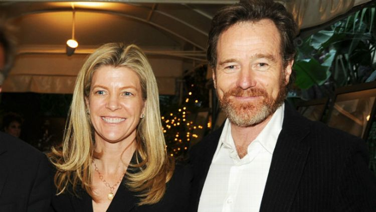 Michelle MacLaren and actor Bryan Cranston
