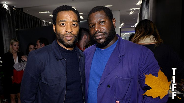 Chiwetel Ejiofor and Steve McQueen