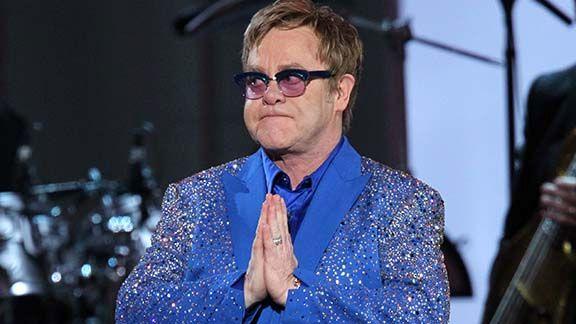 Elton John at the Emmys