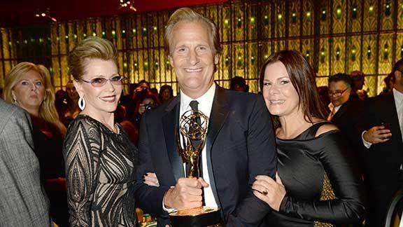 Jeff Daniels, Jane Fonda, and Marcia Gay Harden
