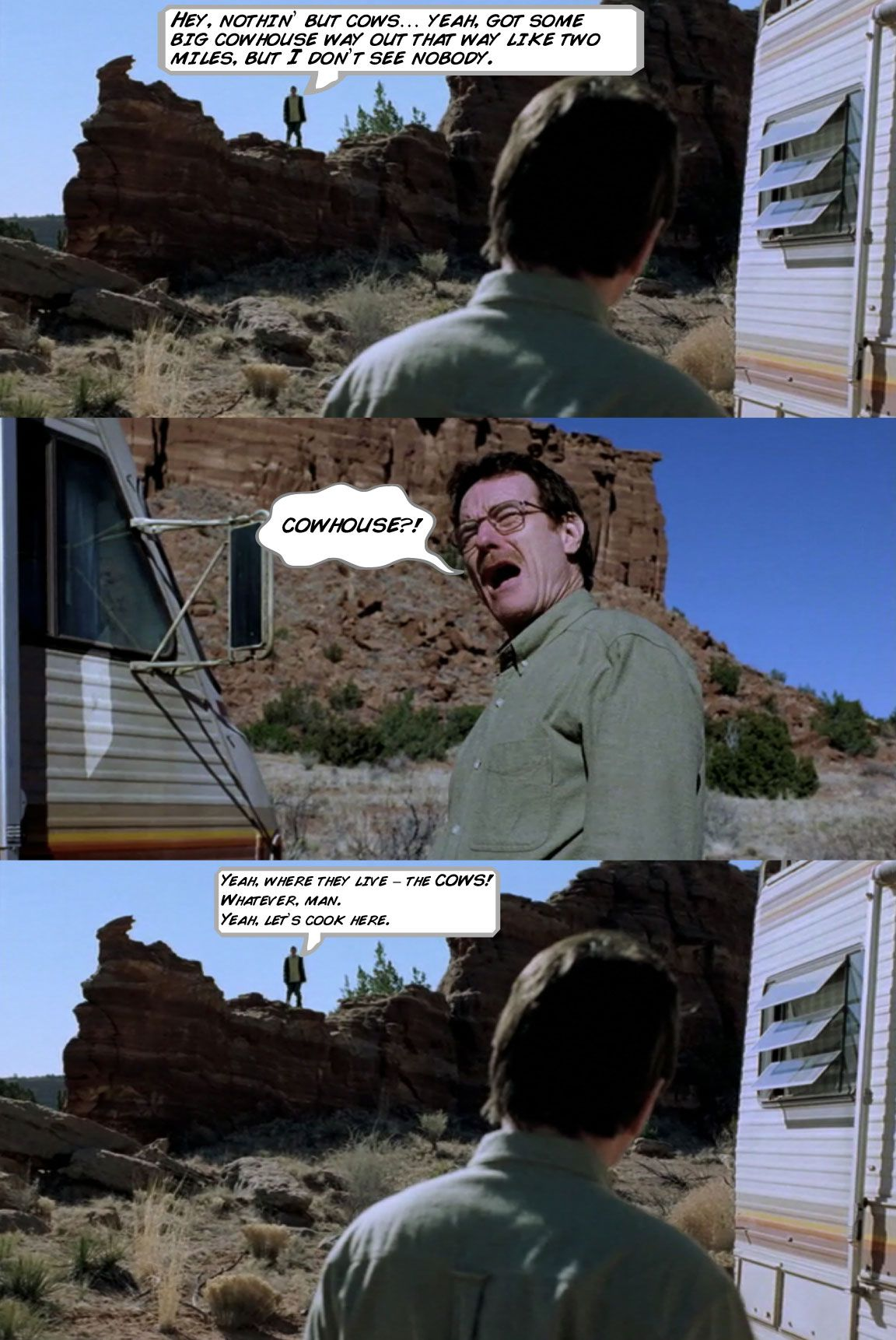 Breaking Bad Comic - Kirk Goldsberry/Grantland