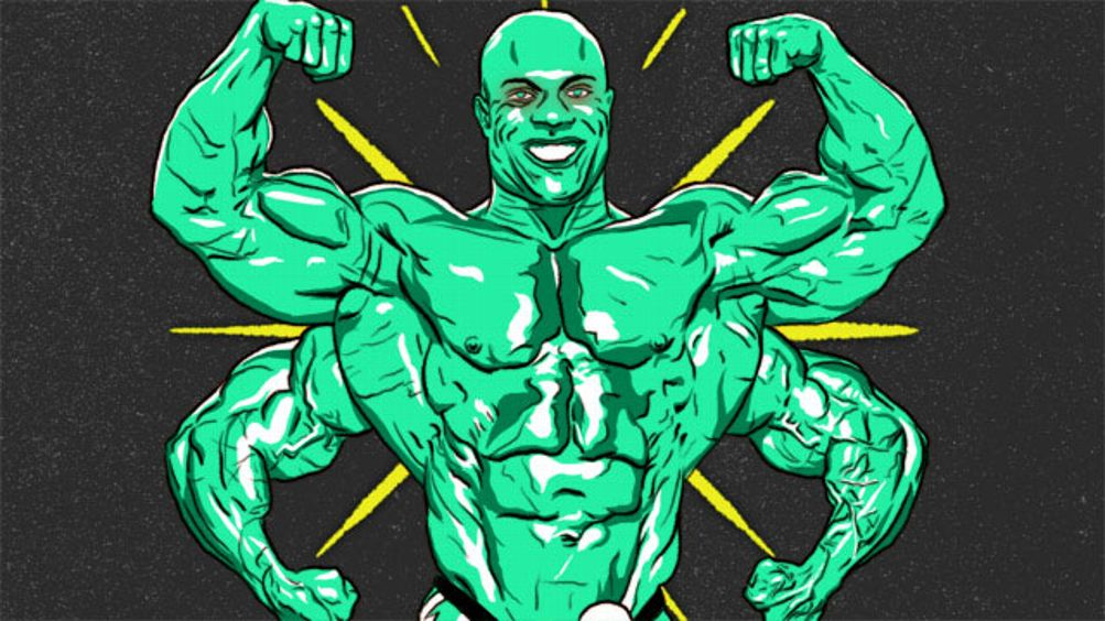 Phil Heath Illustration - Courtesy of Timothy McAuliffe