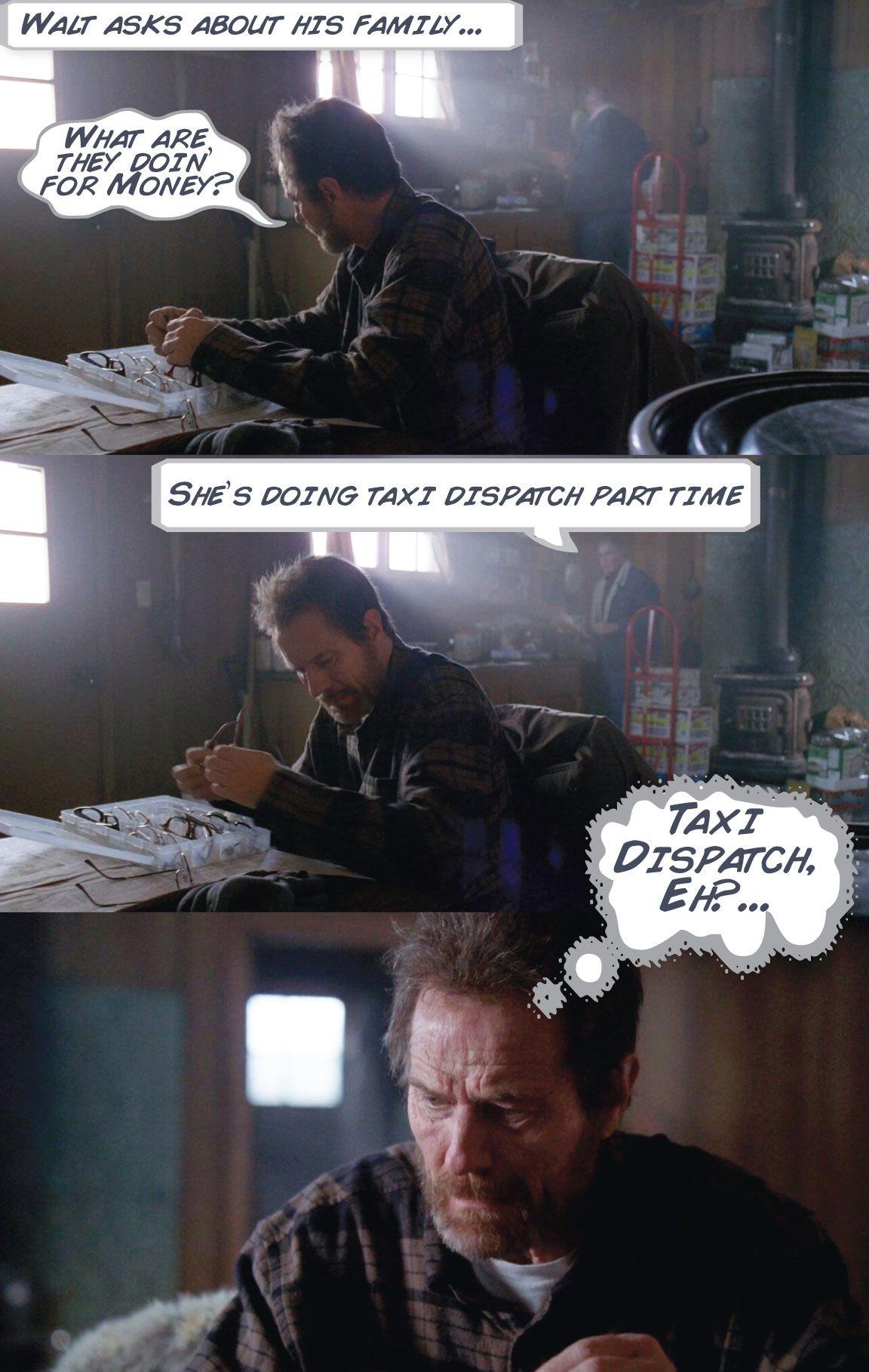 Walt, Breaking Bad Comic - Kirk Goldsberry/Grantland