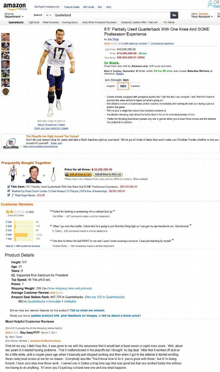 Philip Rivers on Amazon.com
