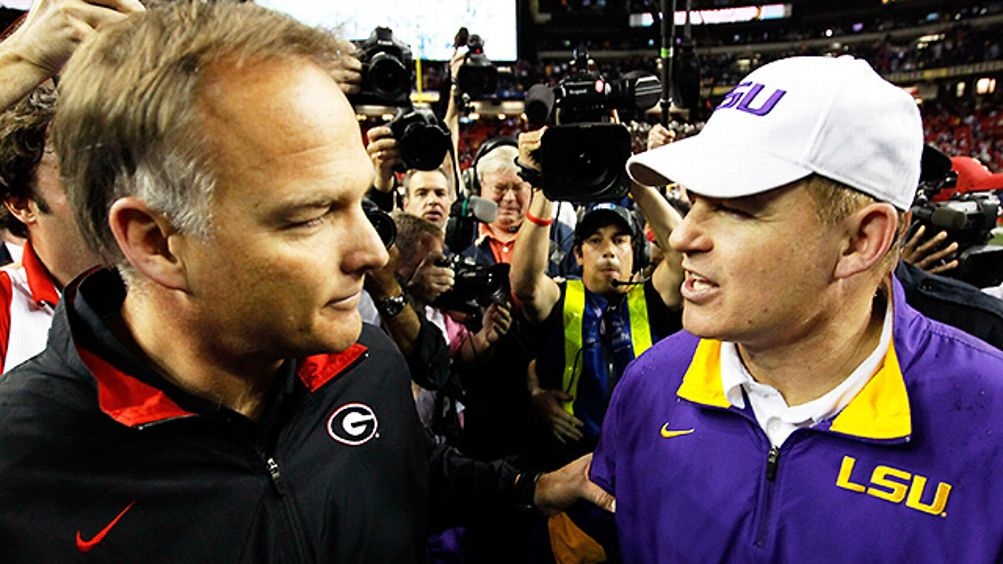 Mark Richt and Les Miles