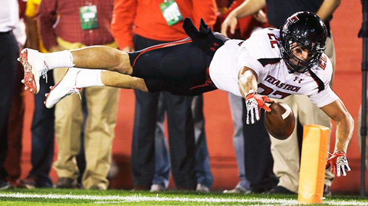 Texas Tech tight end Jace Amaro