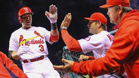 St. Louis Cardinals outfielder Carlos Beltran