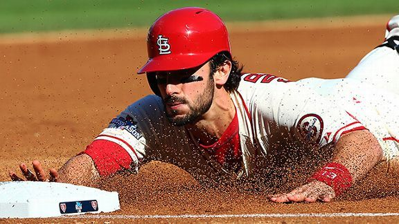 St. Louis Cardinals infielder Matt Carpenter