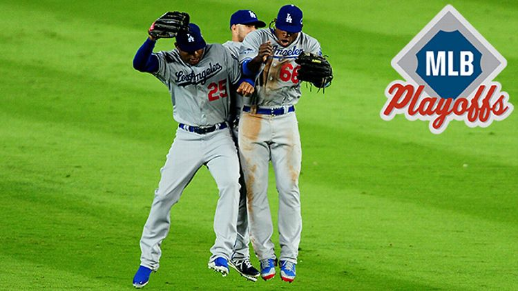 Los Angeles Dodgers NLDS Game 1