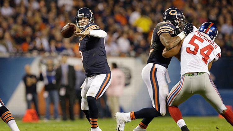 Chicago Bears quarterback Jay Cutler