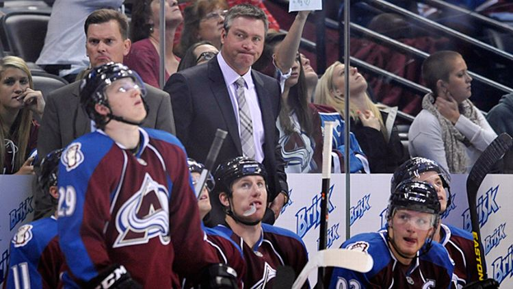 Colorado Avalanche head coach Patrick Roy