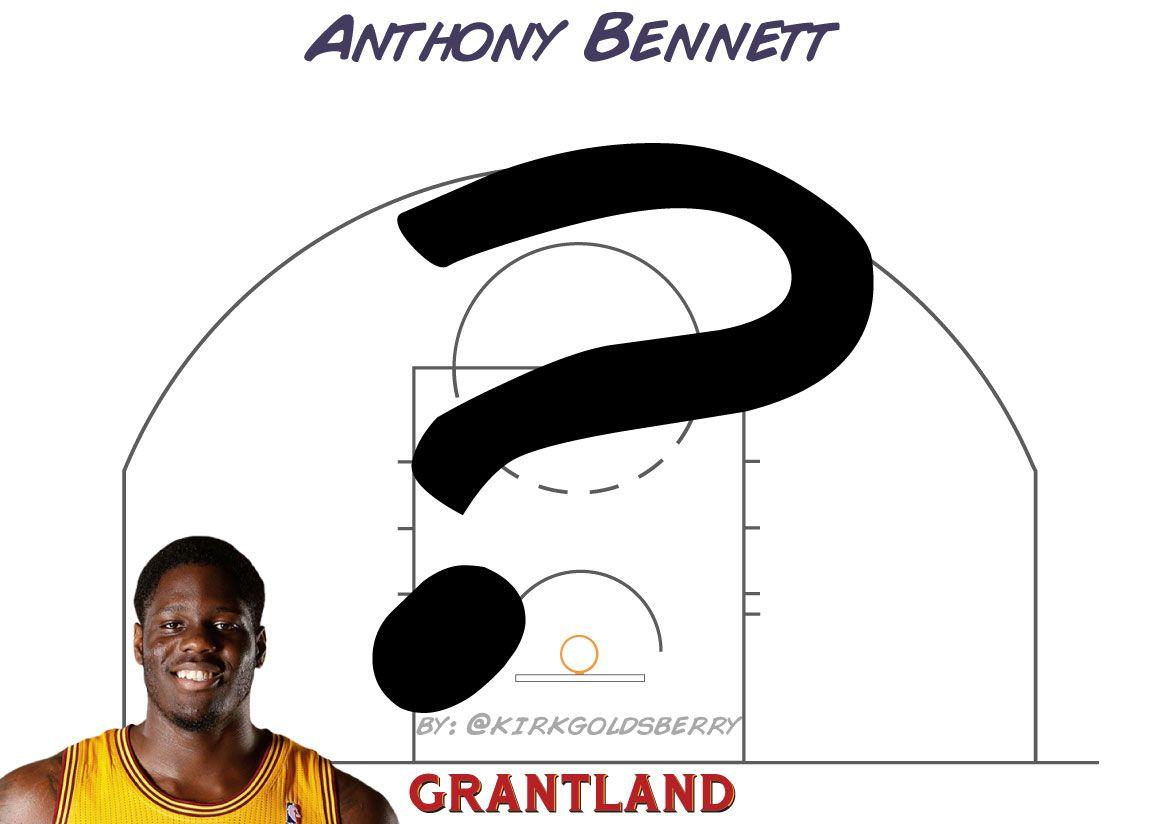 Anthony Bennett chart