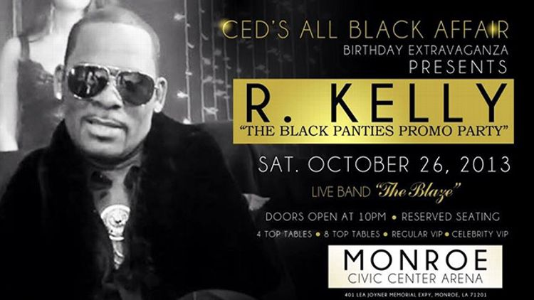 R Kelly Party Invite